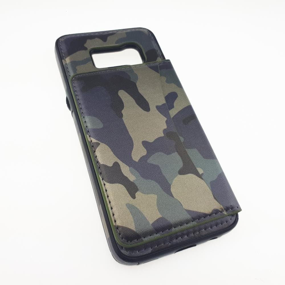 S8 Camo Flip Leather Case