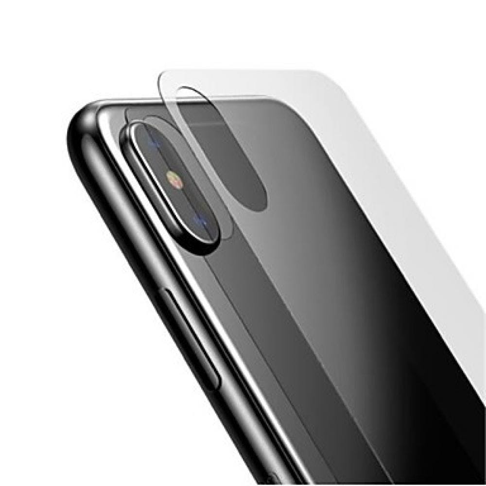 finest selection bbcce 8c468 Tempered Glass Screen Protector - iPhone Xs Max (BACK)