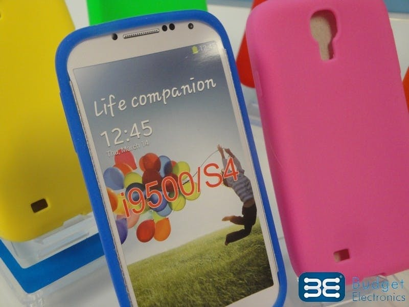 Samsung Galaxy S III Blue Silicone Case