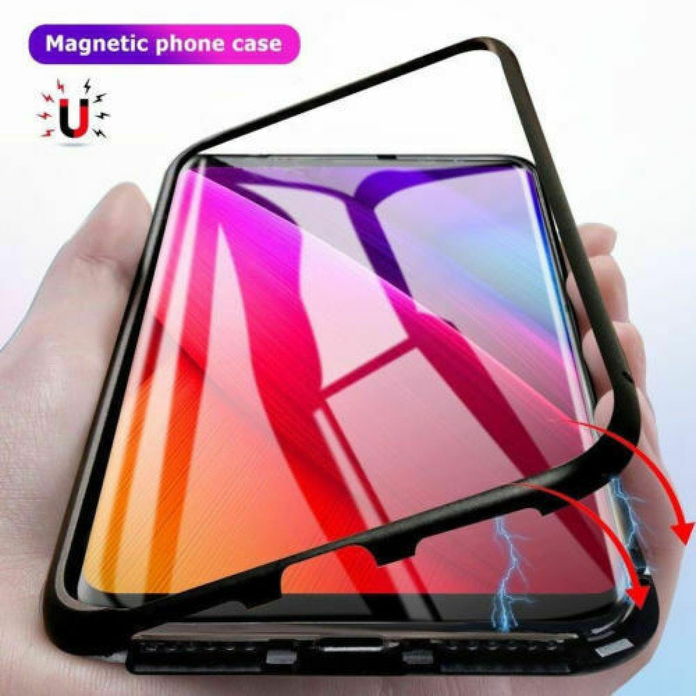 cheap for discount f81c2 6e868 Transparent Magnetic Case - Samsung Galaxy Note 8