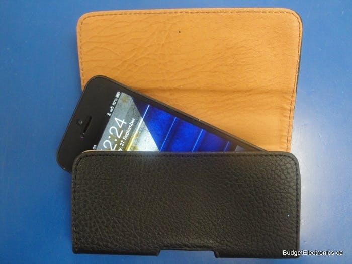 iPhone 5 Leather Holster