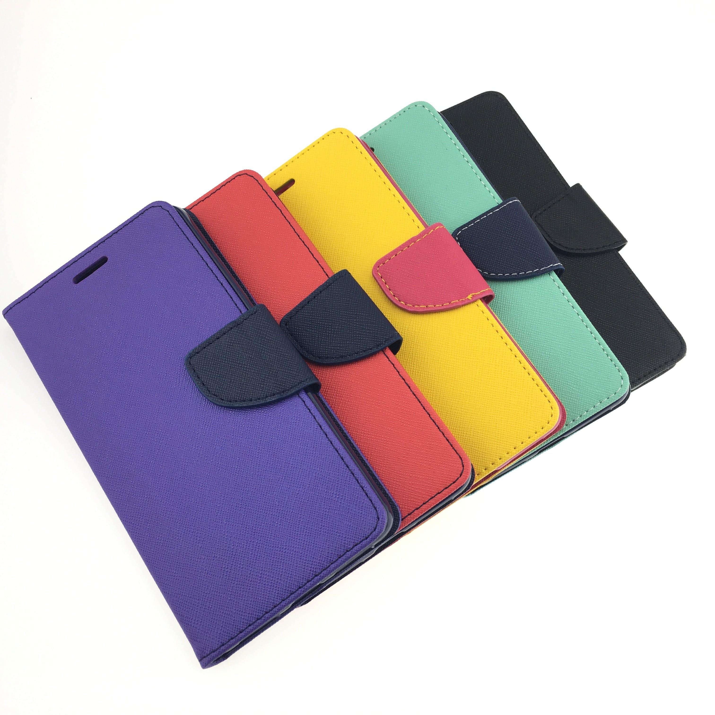 online store b596c cea0a Leather Wallet Case - Google Pixel 2 XL