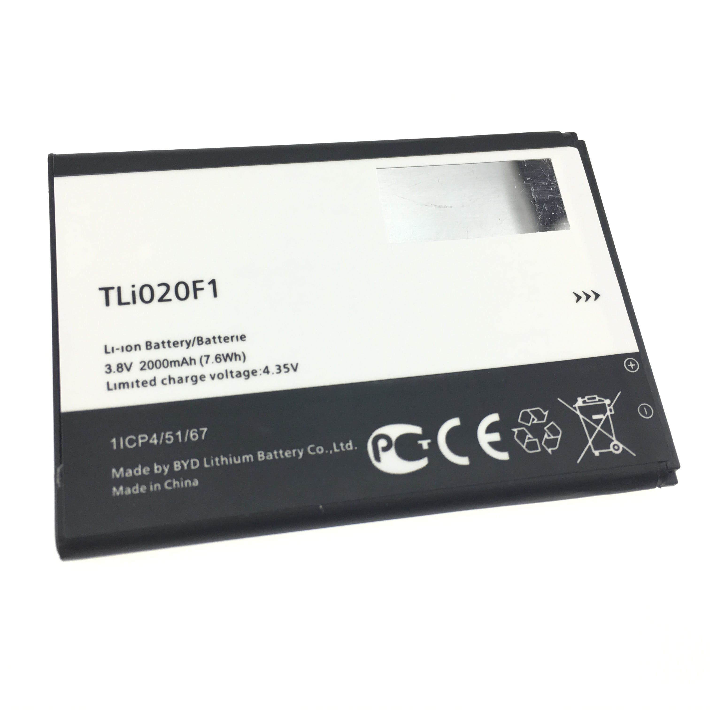 Alcatel One Touch Fierce 2 Replacement Battery